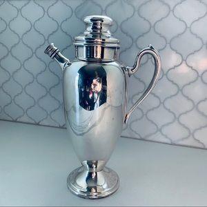 1940 Gotham Vintage Silverplate Martini Pitcher